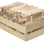 Bâtonnets allume-feu en cagette - c2bois | Baud - morbihan